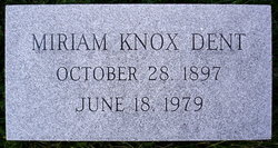Miriam Havely <I>Knox</I> Dent