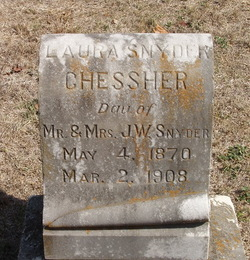 Laura <I>Snyder</I> Chessher