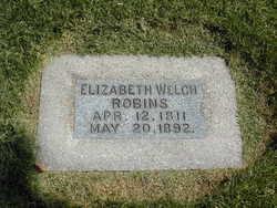 Elizabeth <I>Welch</I> Robins