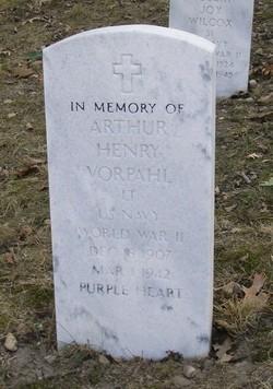 Lieut Arthur Henry Vorpahl