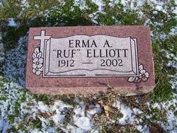 Erma A. <I>Ruf</I> Elliott