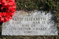 Ruth Elizabeth Barke