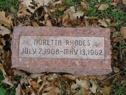 Noretta Rhodes