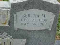 Bertha M Mitchell