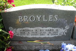 Virginia Alice <I>Chambers</I> Broyles
