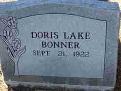 Doris <I>Lake</I> Bonner