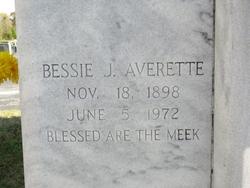 Bessie Audelia <I>Jones</I> Averette