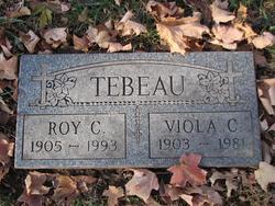 Viola C. <I>Wolf</I> Tebeau