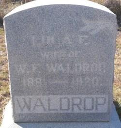 Lula Frances <I>Griffin</I> Waldrop