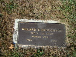 Willard E Broughton