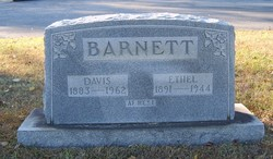 Ethel <I>Ward</I> Barnett