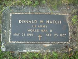 Donald W Hatch
