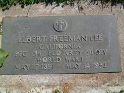 Elbert Freeman Lee