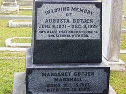Margaret <I>Gotjen</I> Marshall