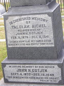 Talulah <I>Aichel</I> Gotjen