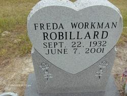 Freeda <I>Workman</I> Robillard