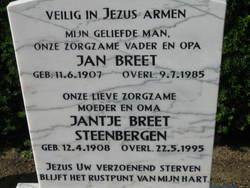Jantje <I>Steenbergen</I> Breet