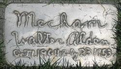 Walter Alden Mecham