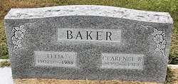 Clarence R Baker