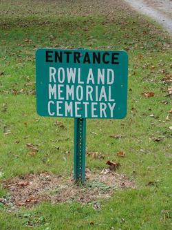 Rowland Memorial Cemetery