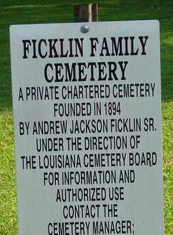 Ficklin Family Cemetery