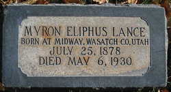 Myron Eliphus Lance