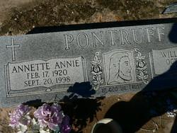 Annette Annie <I>Schneider</I> Pontruff