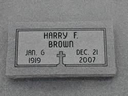 Harry Franklin Brown