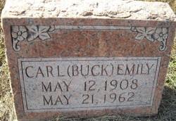 """Carl """"Buck"""" Emily"""
