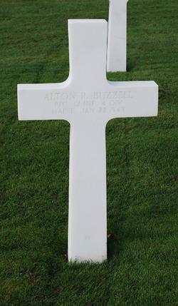 PFC Alton R Buzzell