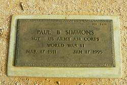 Paul B Simmons