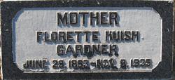 Florette <I>Huish</I> Gardner