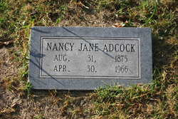 Nancy Jane Adcock