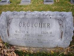 Ella M <I>Vaught</I> Crutcher