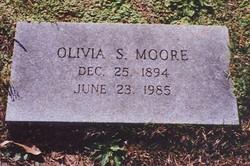 Olivia <I>Smith</I> Moore