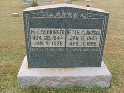 Moses Lee Roy Cloninger