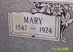 Mary <I>Chafin</I> Webb