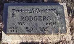 Cynthia Ann <I>Chastain</I> Rodgers