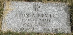 John A Neville