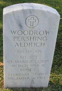 Woodrow Pershing Aldrich