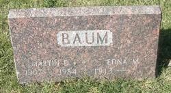 Edna M Baum