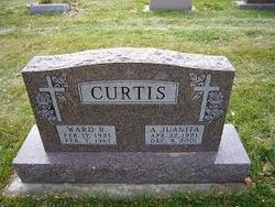 Annie Juanita <I>Jackson</I> Curtis
