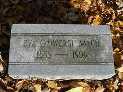 Eva <I>Powers</I> Balch