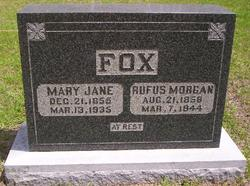 Rufus Morgan Fox