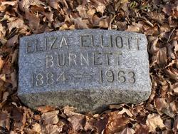 Eliza <I>Elliott</I> Burnett