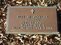 Roy M Fowler