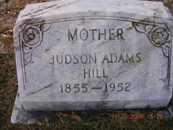 Judson Adams Hill