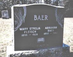 Abraham Baer