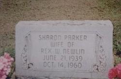 Sharon <I>Parker</I> Newlin