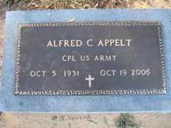 Alfred C Appelt